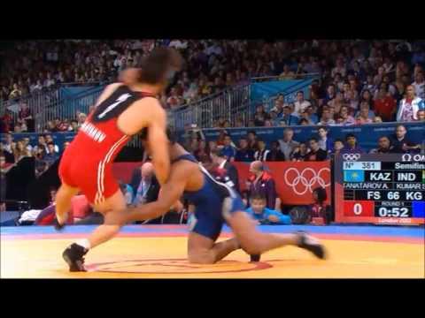 Champion wrestler Sushil Kumar at London Olympics 2012