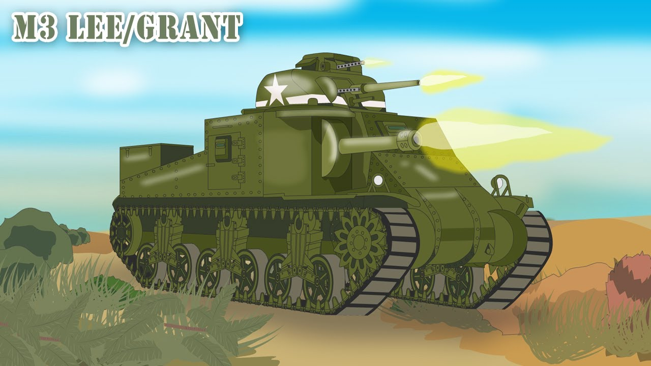 The U.S. M3 Lee/Grant Tank: the Twin Gunned General!