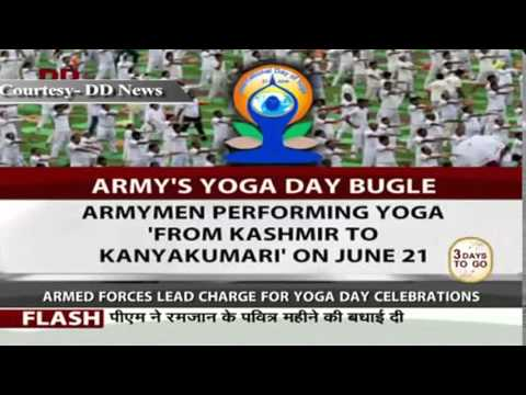 """india leads the world """"yoga has connected the world with india,"""" modi, looking relaxed in white track pants and blue-collared t-shirt, told a cheering crowd """"yoga is about health assurance it is not even expensive to practice,"""" he added enthusiasts braving the rain at ramabai ambedkar park on the international yoga day."""