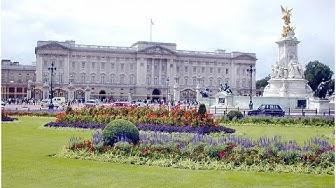 Englannin kuninkaallinen perhe ja residenssit