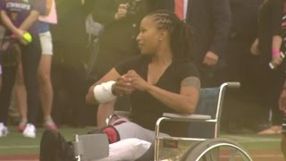Capitol Police officer Crystal Griner, who was shot while stopping ...