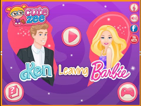 Barbie Make Up and Dress Up Games Ken Leaves Barbie Game Free