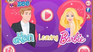 Barbie Make Up and Dress Up Games Ken Leaves Barbie Game Free