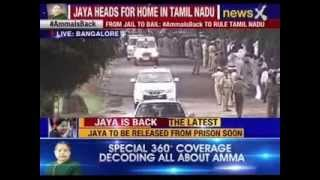 Live: Jayalalithaa released from jail after 21 days, supporters celebrate