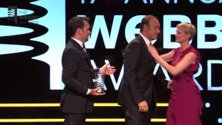 Robin Wright Presents Kevin Spacey & Dana Brunetti w/ Special Achievement at the 17th Annual Webbys