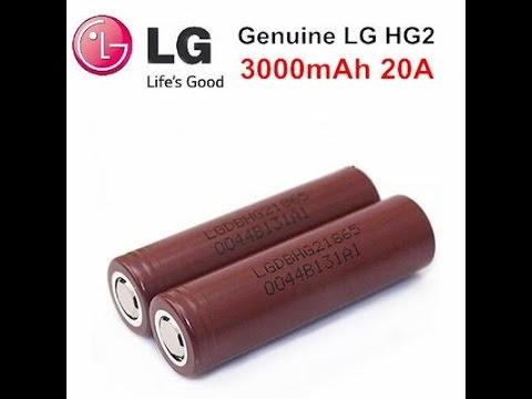 Mod 18650 Battery Comparison - Samsung 25R Vs. Sony VTC 4 Vs .