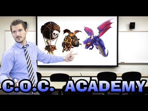 C.O.C.  ACADEMY-CLASH OF CLANS-TH9&10