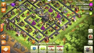Gameplay Clash of Clans & Nvidia Shield Tablet