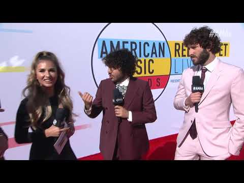 Benny Blanco Red Carpet Interview - AMAs 2018