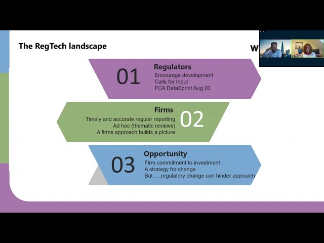 Global RegTech Summit 2020 - SM&CR  WHY TECHNOLOGY IS THE ONLY WORKABLE SOLUTION