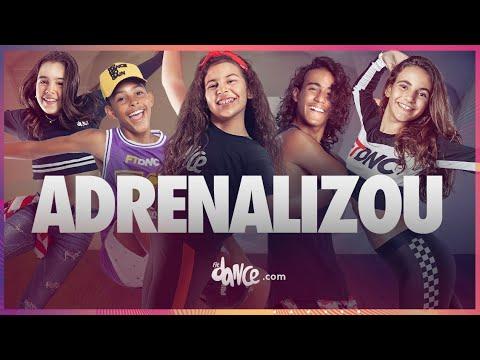 Adrenalizou - Vitor Kley Coreografia  Dance