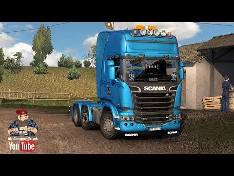 ETS2 v1.28] Scania V8 Sound - YouTube