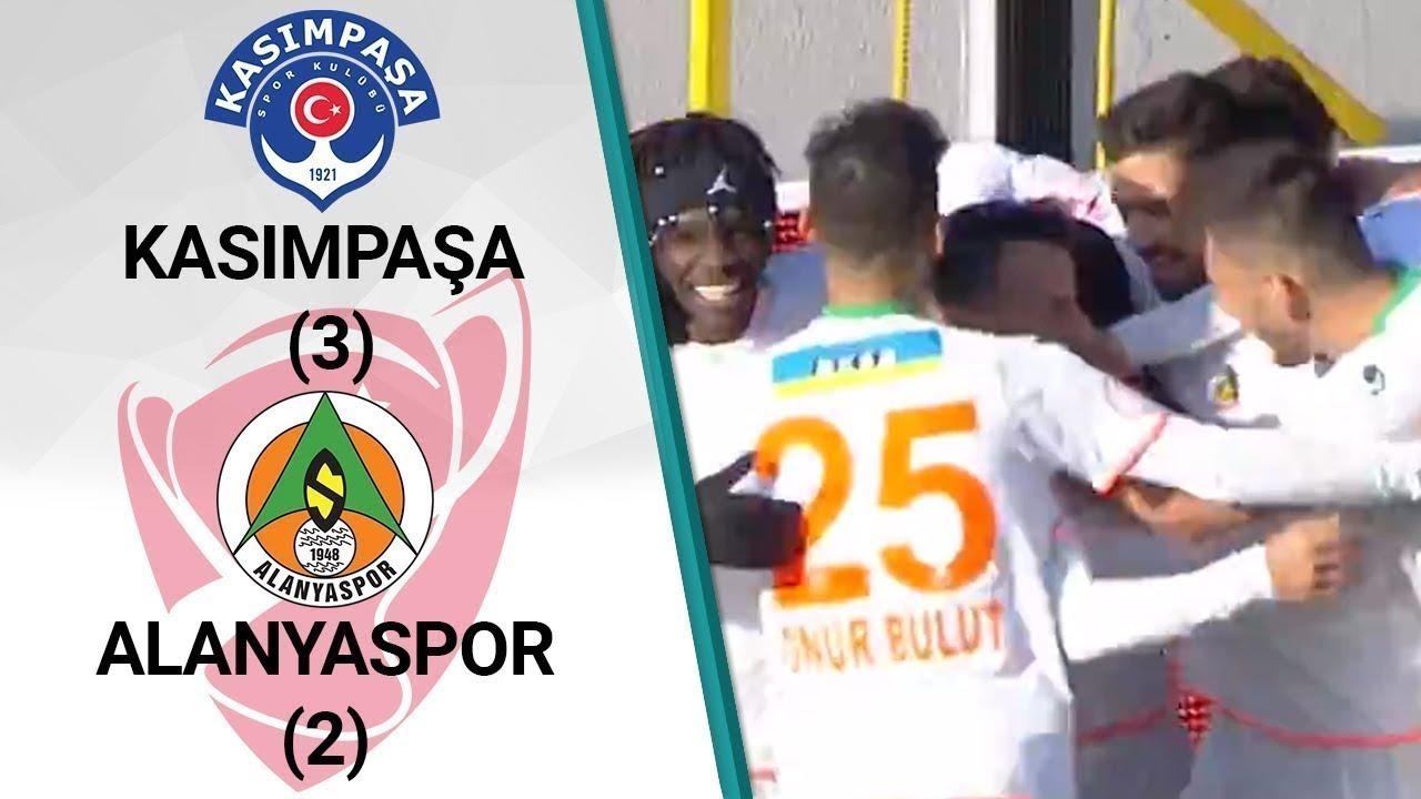 Kasımpaşa 3 - 2 Alanyaspor MAÇ ÖZETİ (Ziraat Türkiye Kupası Son 16 Turu Rövanş Maçı)