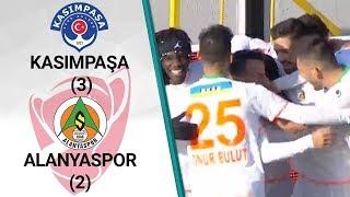 Kasımpaşa 3 - 2 Alanyaspor MAÇ ÖZETİ (Ziraat Türkiye Kupası Son 16 Turu Rövanş M