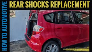 How to Replace the Rear Shocks on a 2009-2014 Honda Fit