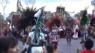 Baile en La Santa Cruz de los Milagros 2014