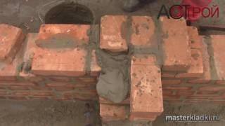 Примыкание перегородки из кирпича(Оригинал данного видео можно найти на канале Владимира Коваленко