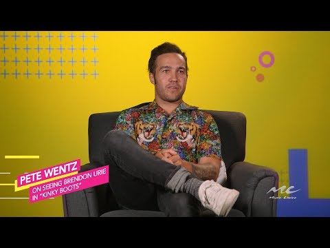 Pete Wentz on Brendon Urie's Performance in Kinky Boots