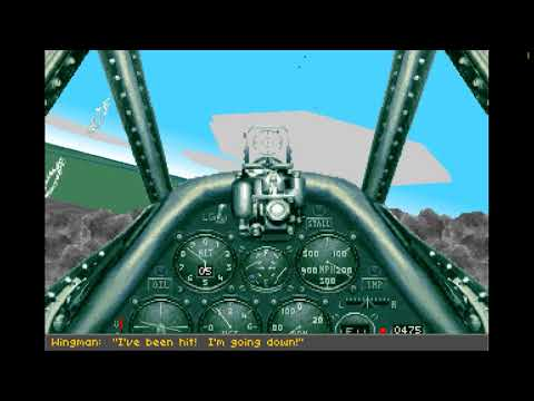 Aces Over Europe - Gameplay On Windows 10 (DosBox)