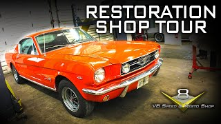 Muscle Car Restoration Shop Tour at V8 Speed & Resto Shop