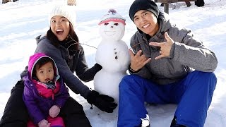 Do You Want to Build a Snowman!? | The Mongolian Family