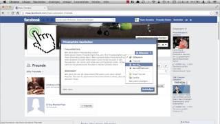 Facebook: Wie ändere ich, wer die Freundesliste sehen kann?