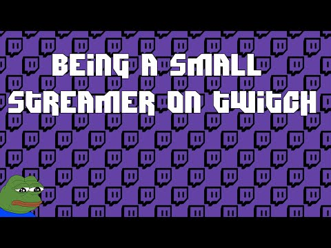Being a Small Streamer on Twitch