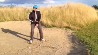 Урок по гольфу № 5 - Бункер около Грина (Теория, особенности клюшки, техника)