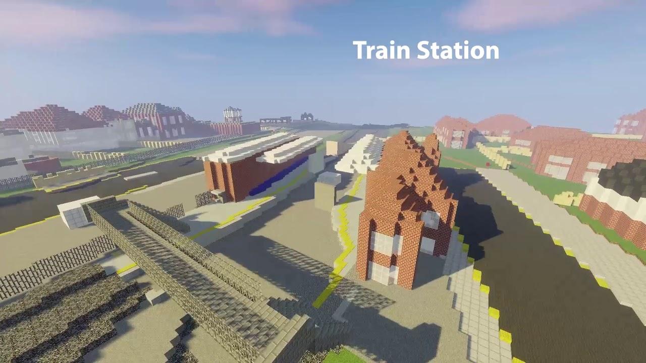 Block2block: New Milton in Minecraft | Hampshire Cultural Trust