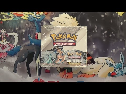 Pokémon Platin Arceus Booster Display Unboxing!