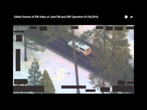 FBI VIDEO OF FINICUM DEATH
