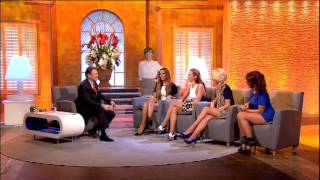 The Saturdays - Interview - Alan Titchmarsh Show - 16th October 2013