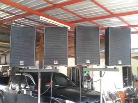 ทดสอบเสียงกลาง 12 นิ้ว ดอก E12 300S โดย เอสซีซาวด์