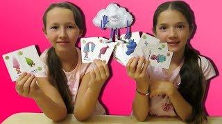 ТРОЛЛИ в Пятерочке I Челлендж карточная Игра Тролли дорога на вечеринку