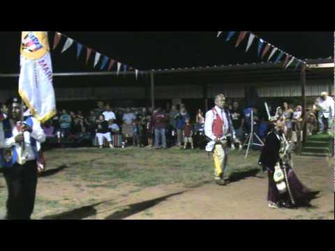 Grand Entry (Sat.) BEST Comanche Nation Fair 2011