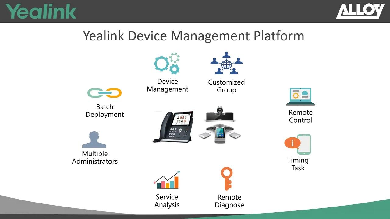 Yealink Device Management Platform   Electronic Frontier Ltd