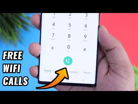 How To Enable & Use WiFi Calling In Any Samsung Devices - Make Free WiFi Calls