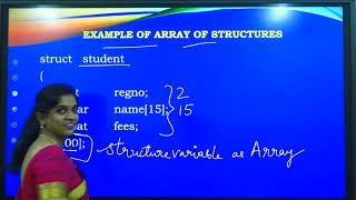 I PUC | Computer Science | Structures-3