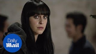 Jessica Falkholt stars in the 2018 fantasy film 'Harmony' - Daily Mail