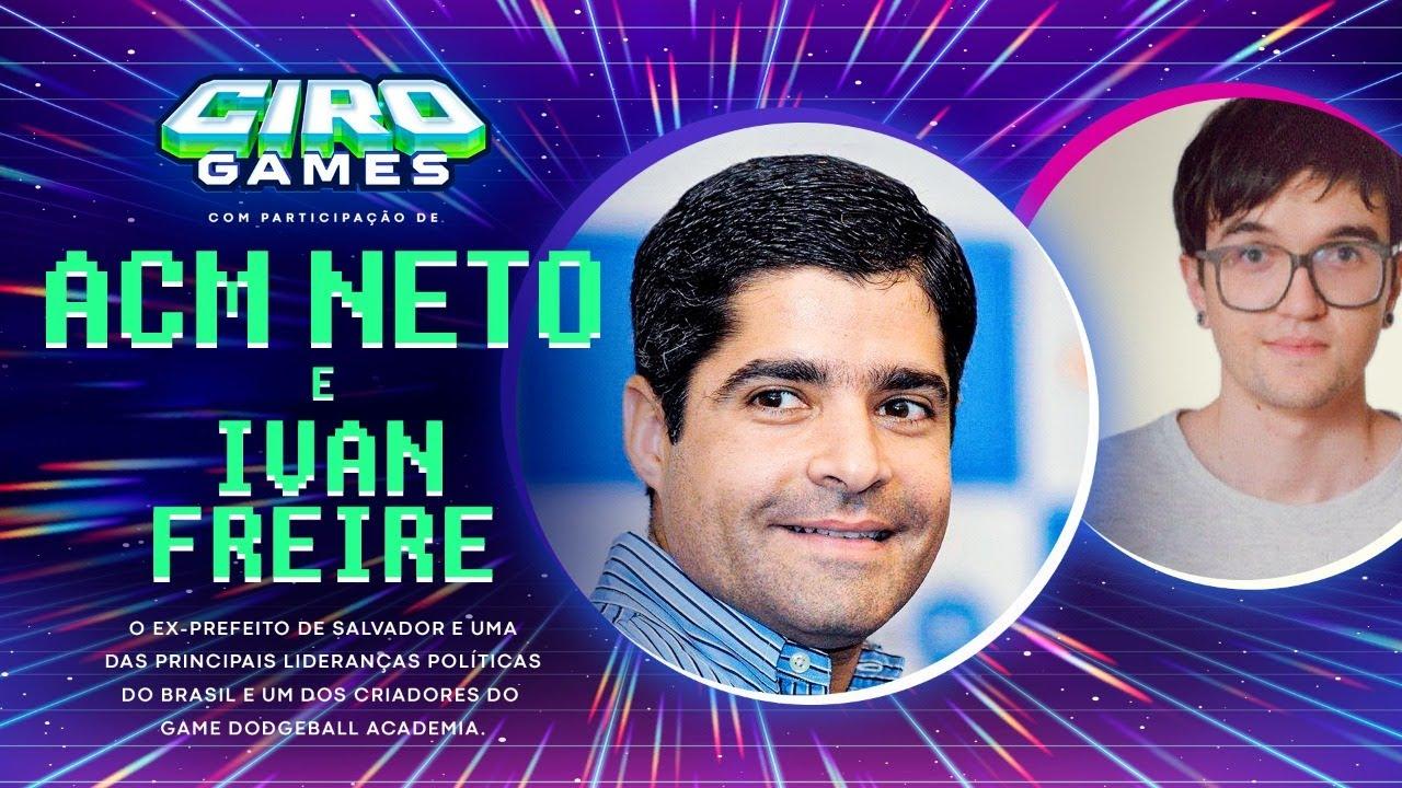 Download CIRO GAMES #8   26/10/2021 com ACM Neto e Ivan Freire