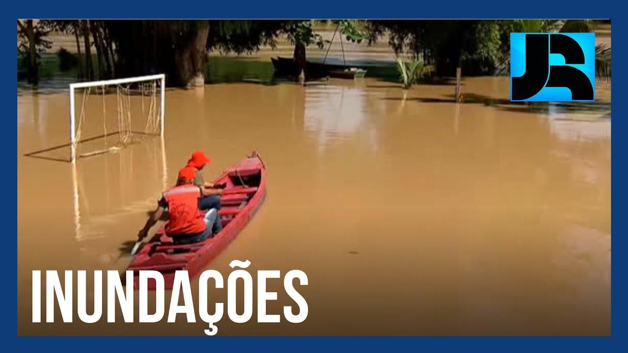 Cheias afetam pelo menos 130 mil pessoas no estado do Acre