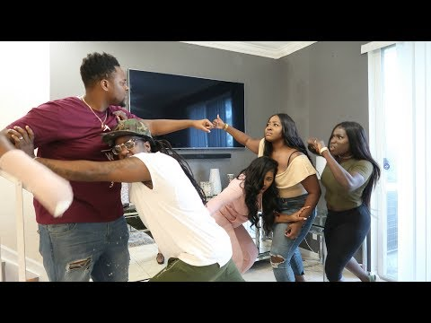 """BREAKING UP IN FRONT OF COMPANY!!"" PRANK ON PANTON SQUAD!!!"