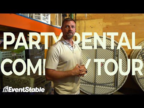 Party Rental Company Tour - Celebrations