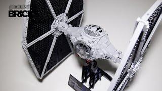 Lego Star Wars 75095 UCS TIE Fighter Speed Build