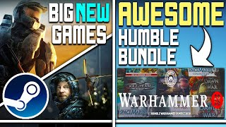 Big Games Just Released on Steam + Awesome New Humble Bundle