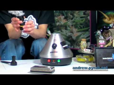 Volcano Vaporizer / Vapouriser - Amsterdam Product Review