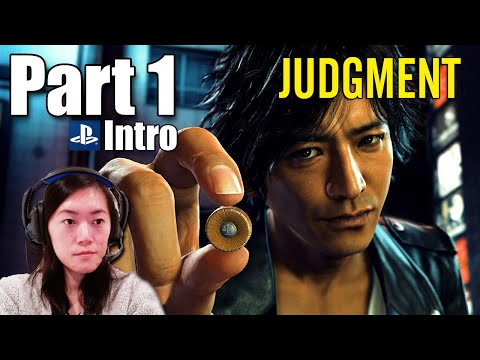 JUDGMENT Gameplay - Part 1 Lawyer turned Detective - Let's Play, Walkthrough, English Dub