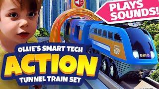 Smart Tech Sound Action Tunnel Travel Set [BRIO Trains]