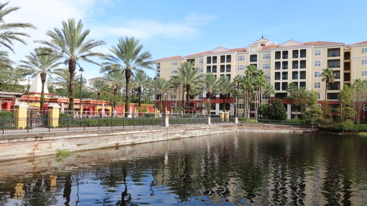 Tuscany Village Grounds Tour Orlando FL Hilton Grand Vacation Club