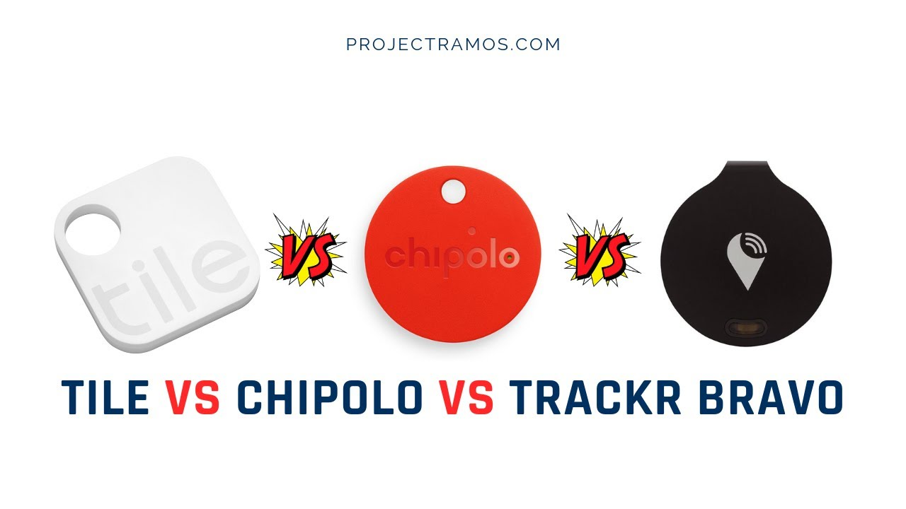 tile vs chipolo vs trackr bravo